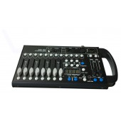 Mini 192 Channels With 12 Scanners DMX Controller Console For Stage Light Party