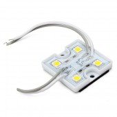20Pcs 4LEDs SMD 5050 LED Module IP65 Waterproof DC 12V