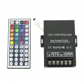 3 Channel RGB Decoder Controller 30A for LED Fiber Optic Light with Remote Control