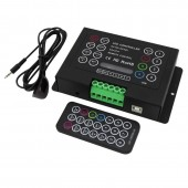 BC-380-6A 3CH Bincolor Led RGB Controller with Wireless remote