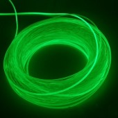 4.0mm Flexible Solid Core Side Glow Light Plastic Fiber Optic Cable 100 Meters