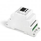 BC-835-010V-DIN/BC-835-PWM-DIN Bincolor LED Controller Din Rail DMX512/1990 Converter