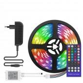 5050 RGBW LED Strip SMD Flexible Ribbon Light Full Set DC 12V