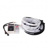 5M LPD6803 6803 LED pixel Strip 5050 RGB Car Light 12V + RF Remote Controller