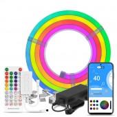 Music LED Neon Light Kits Silica Gel Lights WS2811 Strip RGB 5050 Addressable 12V
