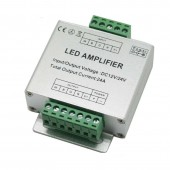 RGBW LED Amplifier Aluminum shell 4CH Controller DC12V 24