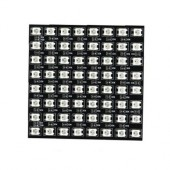 8cm*8cm 64 LEDs WS2812B Rigid Digital RGB LED Matrix Panel Light 5V