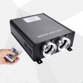 90W LED Fiber Optic RGB Light Engine Driver Generator Remote Control