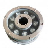 9W Underwater LED light IP68 Waterproof 12V/24V Fountain Pool Ring Lamp Floodlight