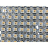 SK6812 RGBW 5050 LED Chip Individually Addressable Prewired Heatsink DC 5V 100Pcs