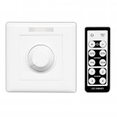 Bincolor BC-320-010V/PWM Led Dimmer AC 85-265V Wall Knob Controller with IR Remote