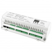 Bincolor Led Controller BC-624-DIN 24CH DMX512 Decoder Driver Control