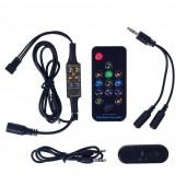 Bluetooth Music Dream Controller DC5-24V IR/RF with Microphone 13 Keys Remote
