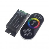 DC 12-24V Remote Control RF Wireless Touch RGB LED Controller LN-CON-TRF8B(T)-3CH-LV