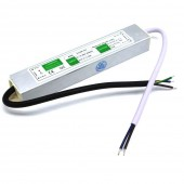 DC 24V 20W Power Supply Adapter IP67 Waterproof Electronic LED Driver Transformer