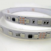 DC 24V SM16703 10ICs/M 60LEDs/M Addressable 5050 RGB LED Strip