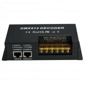 DMX512 Decoder Controller Dimmer Driver 12V 24V 30A 3 Channel