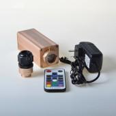 9w RGB Led Fiber Optic Illuminator Multi Light Effect Fade Jump Flash