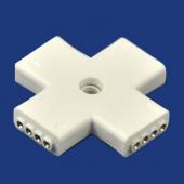 4 Pin + Model Flexible LED Strip Tape Connector For 5050 RGB Strip 10Pcs
