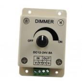 DC 12V 24V Dimmer Controller for LED Light 4pcs