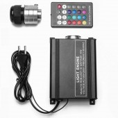 16W RGB Led illuminator Fiber Optic Lighting Engine + Remote Control