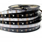 5M SK9822 LED Pixel Strip 30leds/m Individual Addressable 5V 150LEDs Digital Light