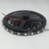 Ice Blue 5050 SMD LED Strip Black FPCB Light 5M 300LED 12V Flex Ribbon Tape