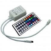 IR440 44keys Wireless Infrared IR LED Controller IR LED Dimmer DC12-24V Input