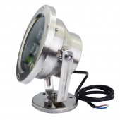 18W LED Underwater Pond Light Swimming Pool Fountain Submersible Spotlight Lamp
