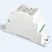 LTECH DIN-AMP-5A LED CV Power RepeaterLed Din Rail Power Amplifier