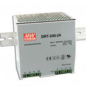 Mean Well DRT-240 240W Three Phase Industrial DIN RAIL Power Supply