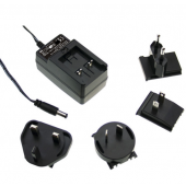 Mean Well GE12 12W Interchangeable Industrial Adaptor Power Supply