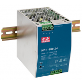 Mean Well NDR-480 480W Single Output Industrial DIN RAIL Power Supply