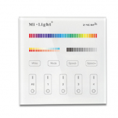 Mi.Light B4 4-Zone RGB+CCT Touch Panel LED Wall Controller
