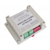 AC110-220V Dmx512 Relays Decoder Controller DMX-RELAY-4CH-220