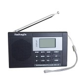 Portable Digital Tuning Multiband Stereo Tuner MW/AM/FM/SW Shortwave Radio REC Control Receiver