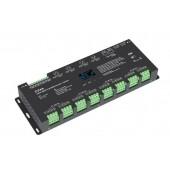 Skydance D24A Led Controller OLED 24CH*5A 12-24VDC CV DMX Decoder