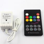 RF RGB Music Sound Wireless RF Remote LED Controller Longer Distance