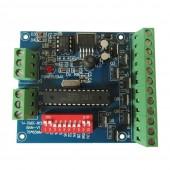 RGBW 8 Channel DMX Controller 2 Group Decoder WS-DMX-8CH-BAN-V1