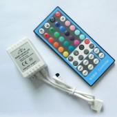 5PIN RGBW LED Controller 4CH 12V 24V 40 Key RGBWW IR Controller