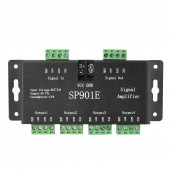 SP901E SPI Signal Amplifier for WS2812B WS2811 WS2813 Pixel RGB Signal Repeater 5-24V
