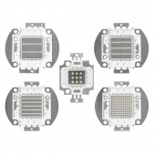 10W/20W/30W/50W/100W UV 395nm-400nm High Power Purple light Lamp LED SMD Chip Bead