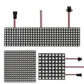 WS2812B RGB LED Pixel Panel Light ECO 8x8 16x16 8x32 Digital Screen Addressable 5V